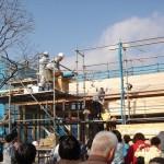 三栄ハウス株式会社様の上棟式