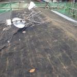 3、既存屋根材の取外し後