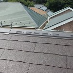 7棟分譲の屋根