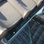 銅板 軒樋の穴
