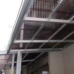 ポリカ 波板屋根