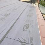 GLカラー鋼板葺き
