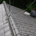 屋根、雨樋掃除
